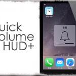 QuickVolumeHUD+ - 音量HUDは一瞬だけ!すぐに表示が消えるように [JBApp]
