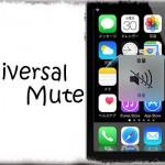 Universal Mute - ミュート時にはメディア音量も一緒に消音! [JBApp]