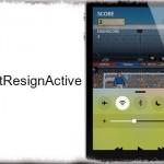 WontResignActive - コントロールセンターを出しても動画再生やアプリを継続 [JBApp]