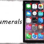 Numerals - バッジの数字をローマ数字に!カッコイイ… [JBApp]
