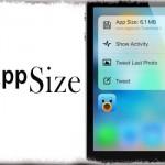 FappSize - アプリ容量をクイックアクションメニュー内に表示 [JBApp]