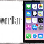 PowerBar - ステータスバー上部にバッテリー残量を示す「バー」を追加 [JBApp]