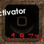 更に3D Touchイベントを追加「Activator 1.9.7」ベータ版を終えRC版に [JBApp]