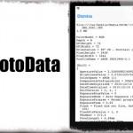PhotoData - 写真アプリから解像度やExif情報などを確認可能に [JBApp]