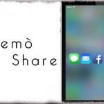 Premò Share - ホーム画面の空きスペースを「強く押す」で共有メニューを [JBApp]