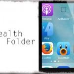StealthFolder - ホーム画面のフォルダアイコンを透明に [JBApp]