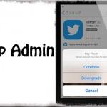 App Admin - 簡単にAppStoreから過去バージョンのアプリをインストール!! [JBApp]
