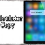 CalculatorCopy - 計算機アプリにクイックアクションを追加 [JBApp]