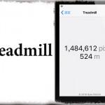 Treadmill - 指が画面上を移動した「距離」を記録&計測!! [JBApp]