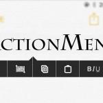 コピペメニューを強化「Action Menu」のiOS 9対応テストが開始 [JBApp]