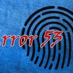 iOS 9.2.1(13D20)で「エラー 53」を修正、TouchIDを非正規店で修理した際の文鎮化問題