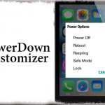PowerDown Customizer - 電源OFFスライダーを電源メニューに変更、Android風なども [JBApp]