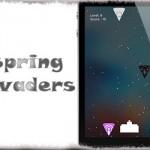 SpringInvaders - どこからでもインベーダーゲーム!アプリアイコンが敵や弾に [JBApp]