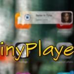 MiniPlayer風の新たな音楽ミニプレーヤー「TinyPlayer」が開発中!! [JBApp]
