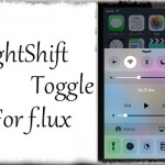 NightShift Toggle For f.lux - おぉ…iOS 9.3新機能Night Shift風f.luxトグル! [JBApp]