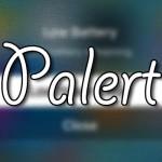 ポップアップメニューをApple TV風のデザインに「Palert」が数日中に登場!! [JBApp]