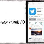 Breadcrumb10 - 「○○に戻る」をiOS 10風スタイルに変更 [JBApp]