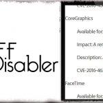 Tiff Disabler - iOS 9.3.3にて修正された脆弱性を脱獄環境でも修正 [JBApp]