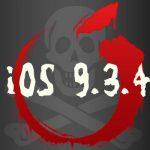 iOS 9.3.4では脱獄が不可に!! セキュリティ修正にはPanguチームの名も