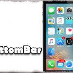 BottomBar - ホーム画面&ロック画面のステータスバーを画面下部へ移動 [JBApp]