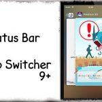 Status Bar in App Switcher 9+ - スイッチャー内にもステータスバーを表示 [JBApp]