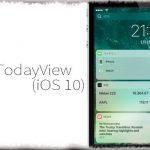 NoTodayView (iOS 10) - ホーム画面やロック画面の左側にある「今日ページ」を非表示に [JBApp]