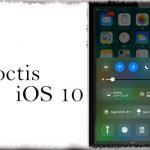 Noctis (iOS 10) - コントロールセンターなど各所を黒スタイルのダークモードに [JBApp]