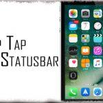 TapTap Statusbar - ステータスバーをタップして表示・非表示を切り替え [JBApp]
