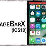 UsageBarX (iOS10) - 通話やテザリング時などのステータスバー2段表示を廃止 [JBApp]