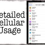 DetailedCellularUsage - 通常は確認できないデータ通信を使用したアプリ&システムも表示 [JBApp]