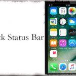 Black Status Bar - ステータスバーの背景を黒くする!アプリ中やホーム画面などでも [JBApp]
