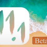 開発者向けに「iOS 11.1 Beta 5」がリリース、Beta 4から3日後