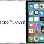 MicroPlayer - ホーム画面に小さめの音楽コントローラを追加、アートワークの表示なども [JBApp]