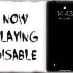 NowPlayingDisable - 音楽再生中でもロック画面にコントローラを出現させない [JBApp]