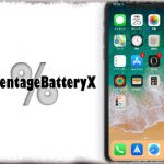 PercentageBatteryX - iPhone Xのバッテリーアイコンデザインを残しつつ…数値化! [JBApp]