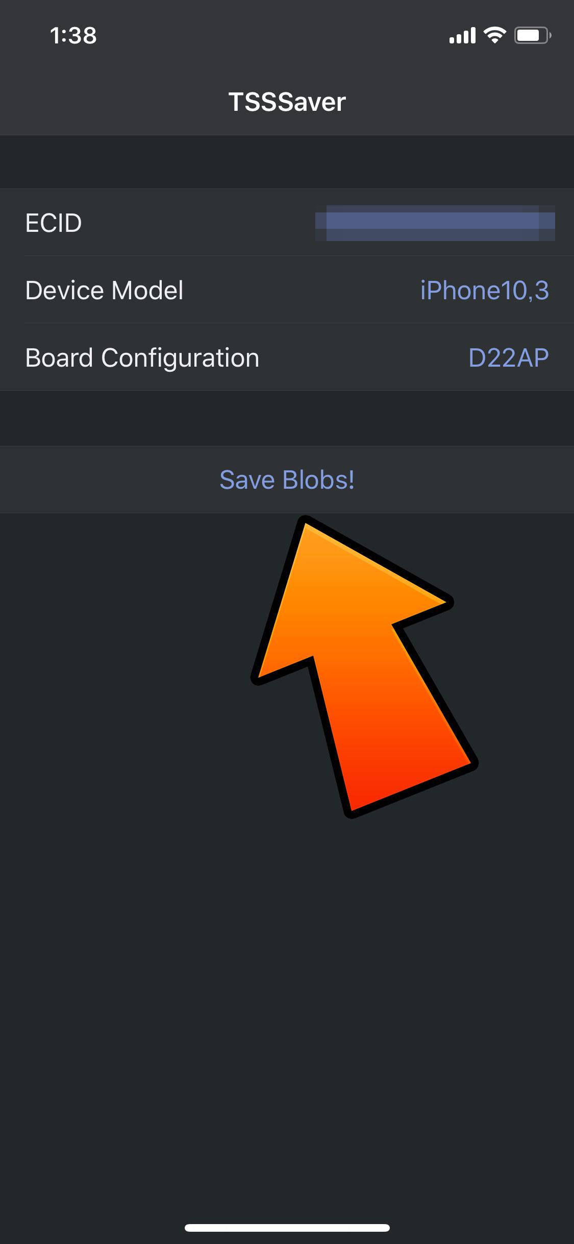 iOS] SHSHを取得・保存する方法!「TSS Saver編」 | Tools 4 Hack