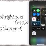 AutoBrightnessToggle (CCSupport) - 「明るさの自動調節」をコントロールセンターからオン・オフ可能に [JBApp]