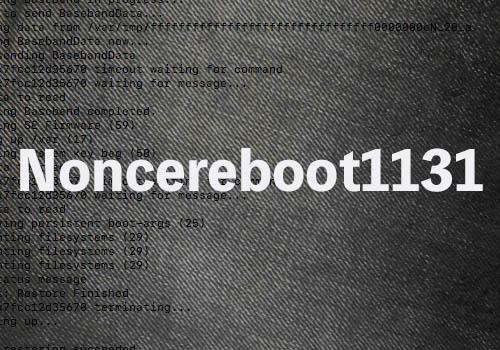 iOS 11 0〜11 3 1に対応した「noncereboot1131」がリリース、SHSHを活用