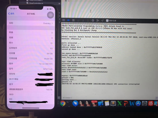news-ios1212-iphonexsmax-getting-tfp0-and-root-sparkzheng-20190115-2