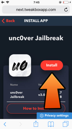 howto-ios120-1212-jailbreak-unc0ver-v300-beta-ver-tweakbox-5