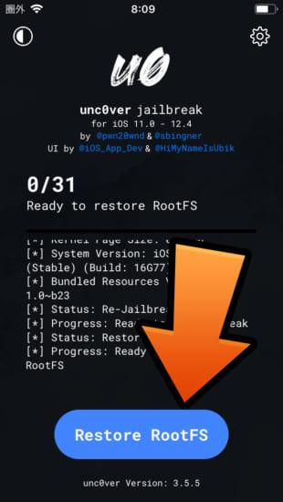 howto-ios11-ios124-delete-jailbreak-to-jailed-unc0ver-restore-rootfs-rec0ver-20190902-3