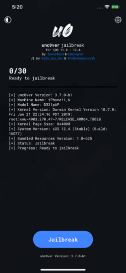 update-unc0ver-v370b1-support-a12-a12x-jailbreak-ios124-2