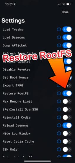 howto-ios11-ios133-delete-jailbreak-to-jailed-unc0ver-restore-rootfs-rec0ver-20200304-2