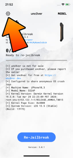howto-restore-rootfs-unc0ver-v50x-remove-jailbreak-2