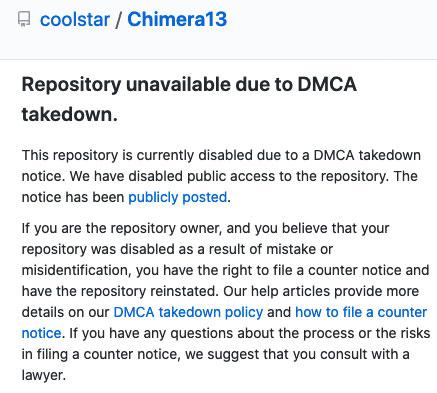 remove-chimera13-odyssey-github-dmca-notice-unc0ver-20200709-2