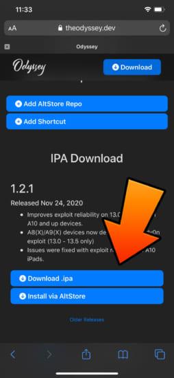 update-odyssey-v121-ios13-137-jailbreak-fix-exploit-2