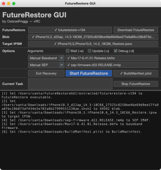 howto-futurerestore-gui-no-command-required-version-2