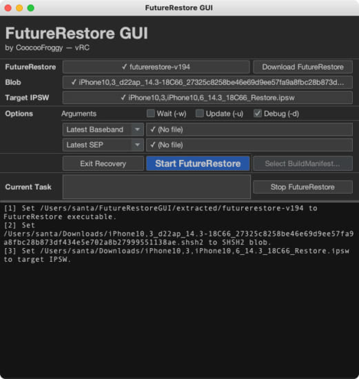 howto-futurerestore-gui-no-command-required-version-4