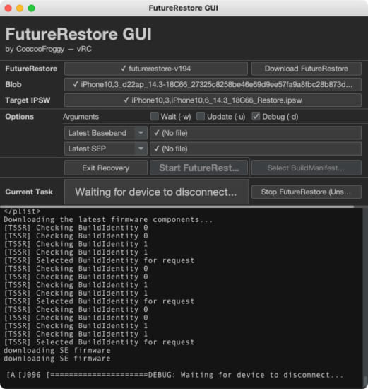 howto-futurerestore-gui-no-command-required-version-9