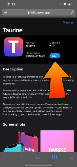 jailbreaksapp-resigned-unc0ver-taurine-odyssey-and-more-install-without-pc-sideload-20210403-6